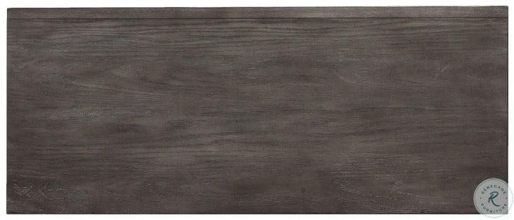 Java Dark Wood Gray Platform Storage Bedroom Set