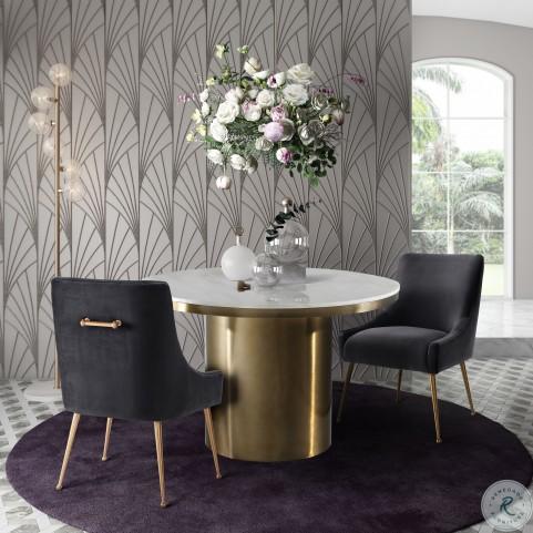 Alisin Marble Dining Room Set