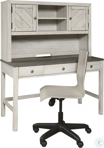 Riverwood Gray Adjustable Swivel Desk Chair