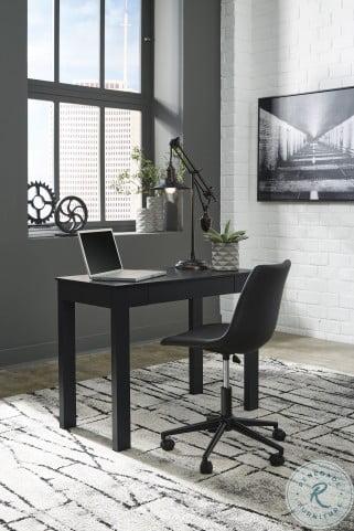 "Mallistron Black 39"" Home Office Set"