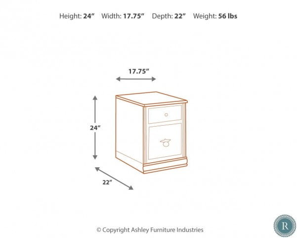 Hamlyn Mobile File Cabinet
