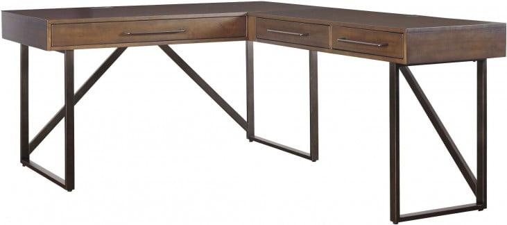 Starmore Brown Home Office Small L Desk
