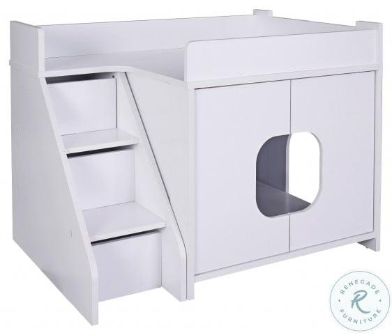 Peeta White Cat Pet House
