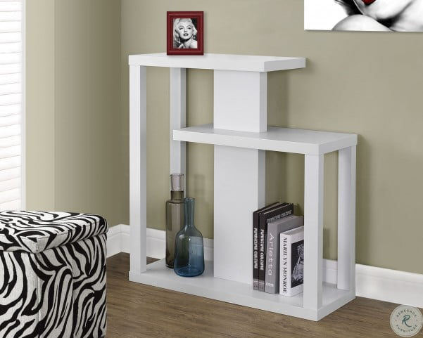 """White 32"""" Hall Console Table"""