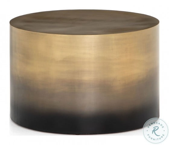 Asher Cameron Ombre Brass Bunching Table