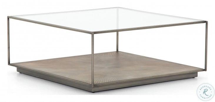 Element Abel Sunburst Square Coffee Table