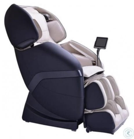 Ogawa Ivory and Black Active L Massage Chair