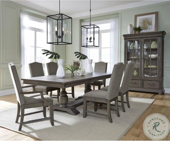 Lasalle Gray Rectangular Dining Room Set