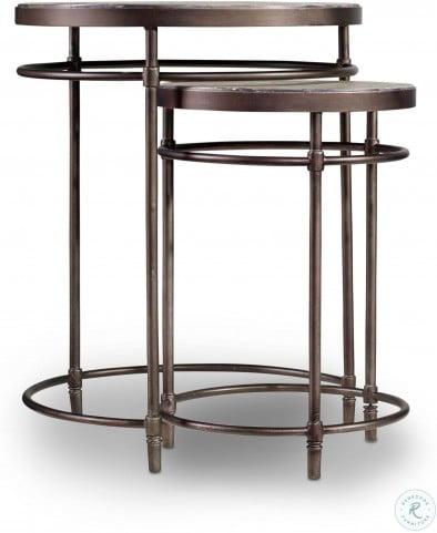 Saint Armand Brown Nesting Tables