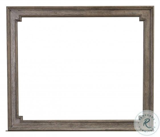 Lasalle Brown Mirror