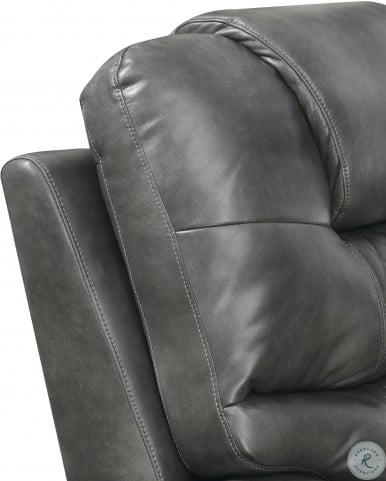Park Avenue Grey Power Reclining Sofa