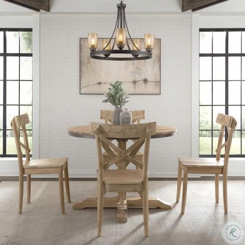 Keaton Beach Round Dining Room Set