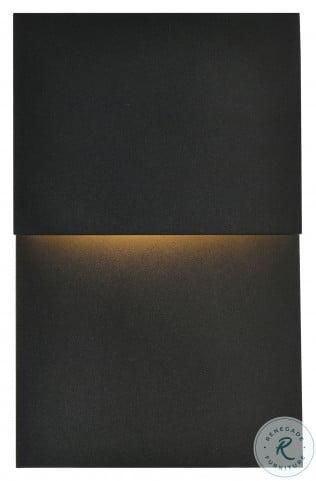 LDOD4029BK Raine Black Rectangle Outdoor Wall Light