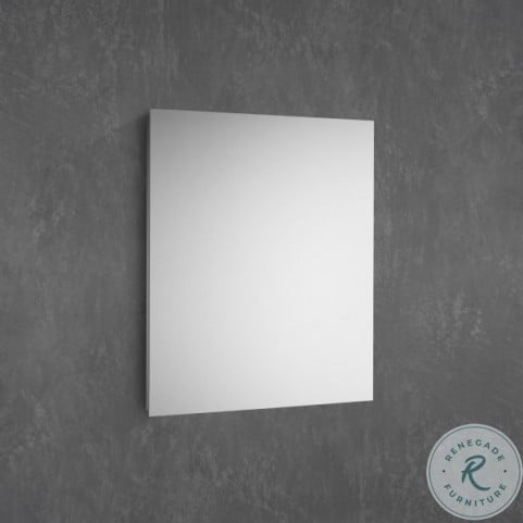 "Modello Anodized 23"" D4 Small Mirrored Door Cabinet"
