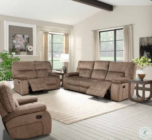Chapman Kona Triple Reclining Living Room Set