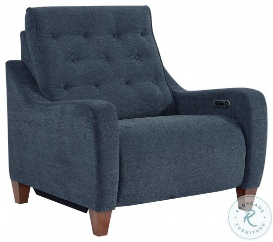 Chelsea Willow Blue Power Recliner