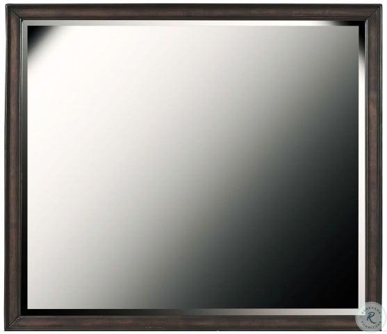 Granite Falls Espresso Brown Dresser Mirror