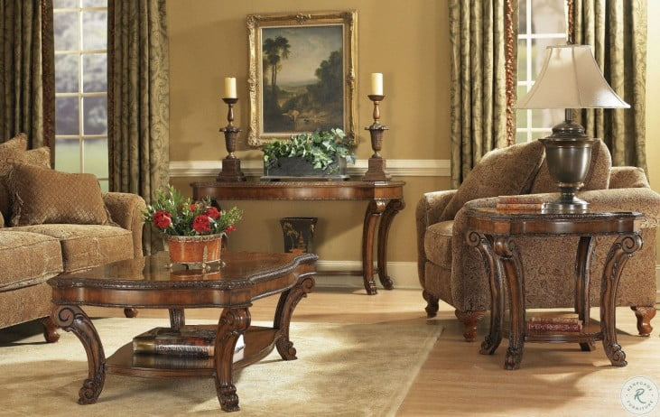 Old World Occasional Table Set