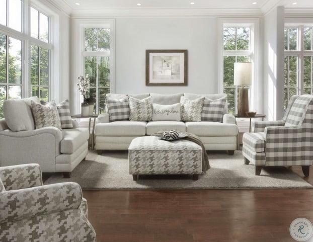 Basic Wool Living Room Set