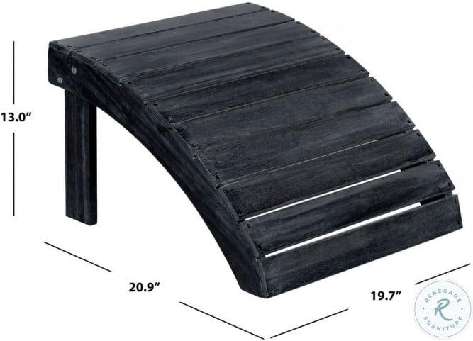 Mopani Dark Slate Gray Outdoor Ottoman