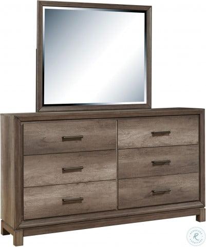 Hanover Square Elm Brown Drawer Dresser