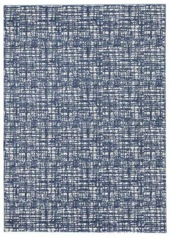 Norris Blue and White Medium Rug