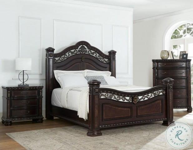 Monte Carlo Rich Cocoa Poster Bedroom Set