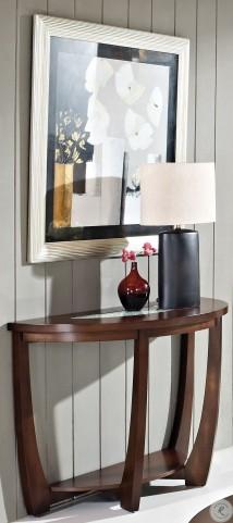 Rafael Merlot Cherry Sofa Table