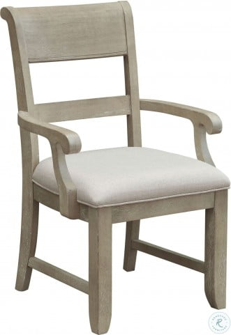 Prospect Hill Tan Arm Chair Set of 2