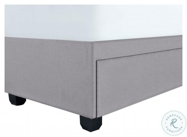 Ds-D402-295-3 Glacier Nail Trim Queen Upholstered Platform Storage Bed