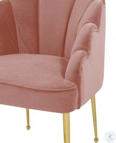 Daisy Petite Blush Velvet Living Room Set