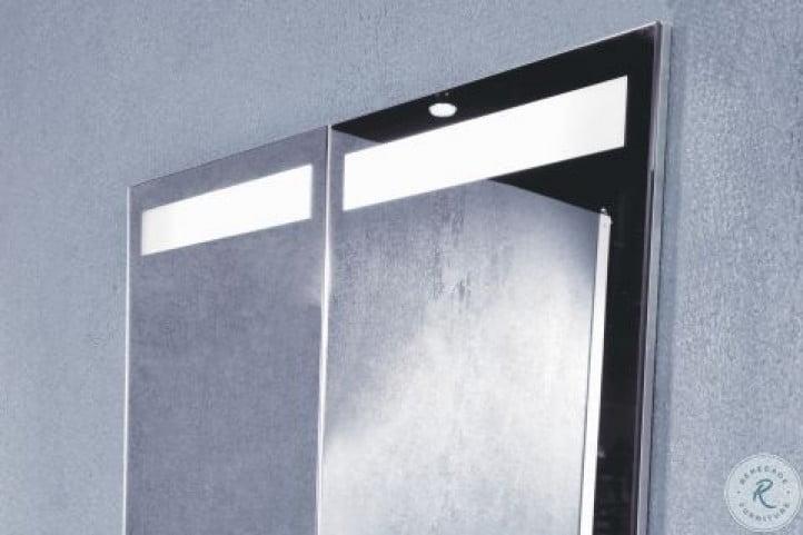 "Quadro 59"" Left 3000K LED Bathroom Cabinet"