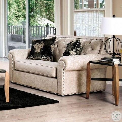 Parshall Beige Living Room Set