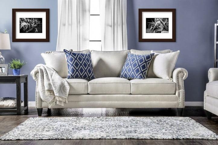 Giovanni Beige Living Room Set