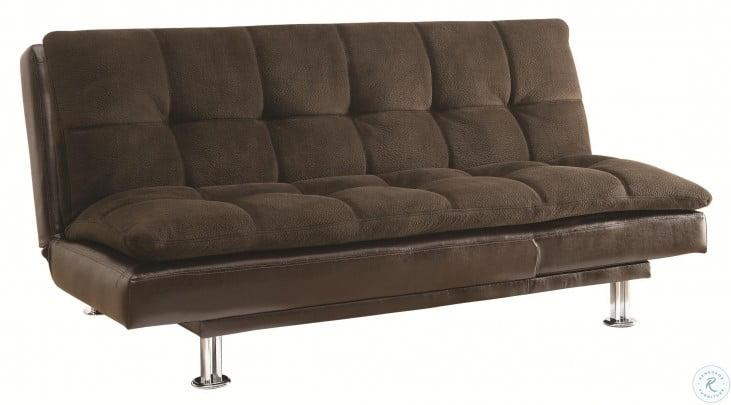 Lennon Dark Brown Full Sofa Bed