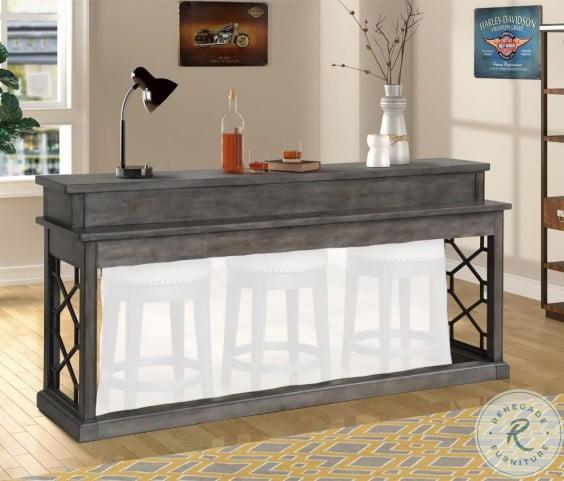 Sundance Smokey Gray Everywhere Console  Bar Table