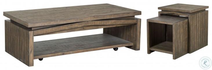 Elliott Antique Brown Nesting Tables