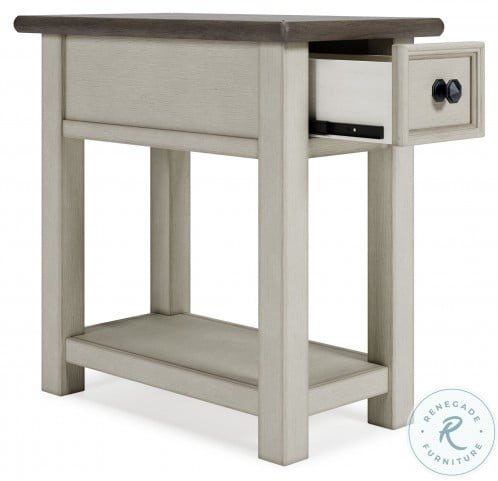 Bolanburg Two tone Chair Side End Table