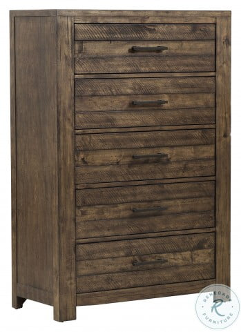 New Haven Rustic Amber Drawer Chest