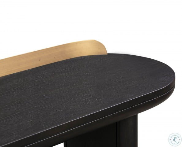 Braden Black Desk/Console Table