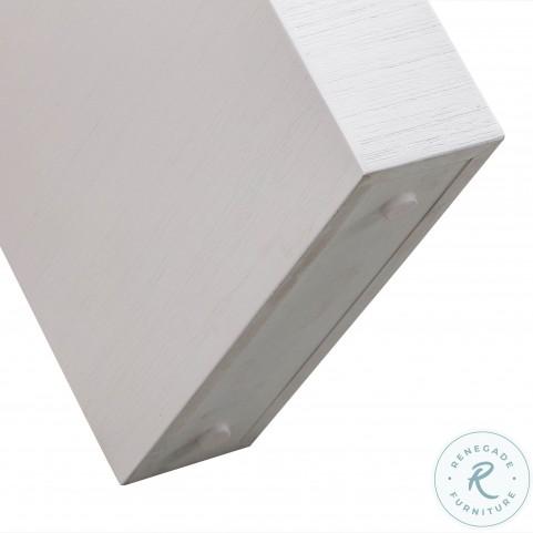 Hump White Console Table