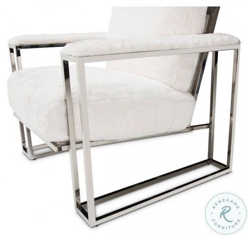 Trance Moonstone Faux Fur Chair