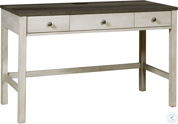 Riverwood Gray Drawer Home Office Set