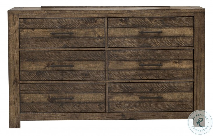 New Haven Rustic Amber Dresser