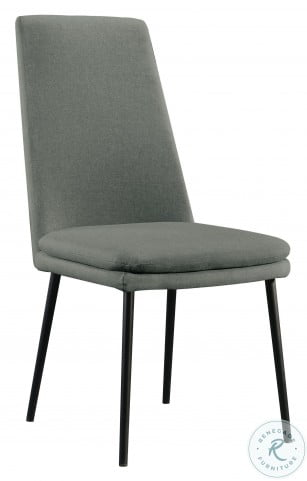 DS D438 700 2 Glacier Modern Upholstered Dining Chair Set Of 2