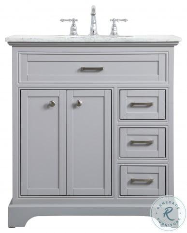 """Aaron Grey 32"""" Bathroom Vanity"""