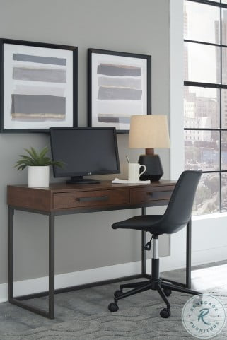 Horatio Dark Brown Home Office Desk
