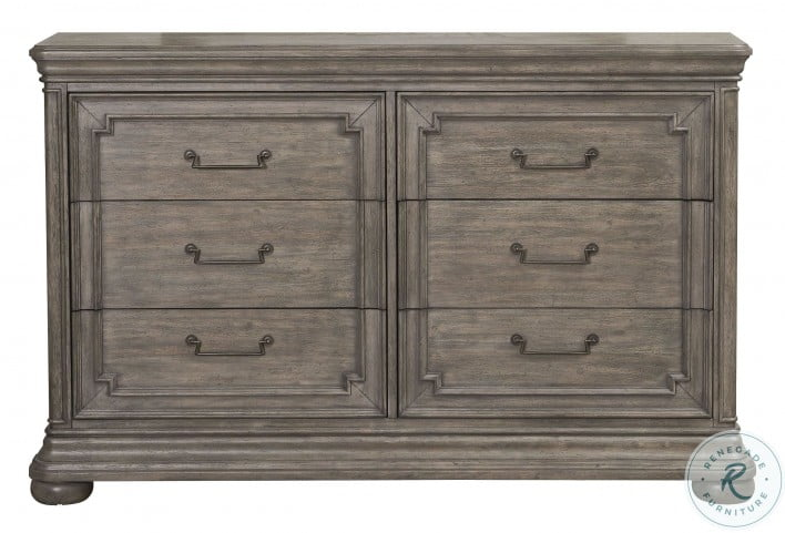Lasalle Brown Dresser