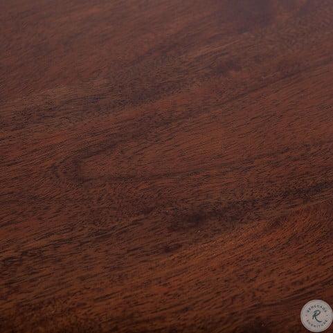 Artezia Brown Acacia Adjustable Side Table