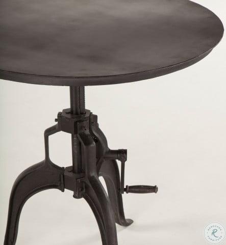 Artezia Walnut Adjustable Side Table